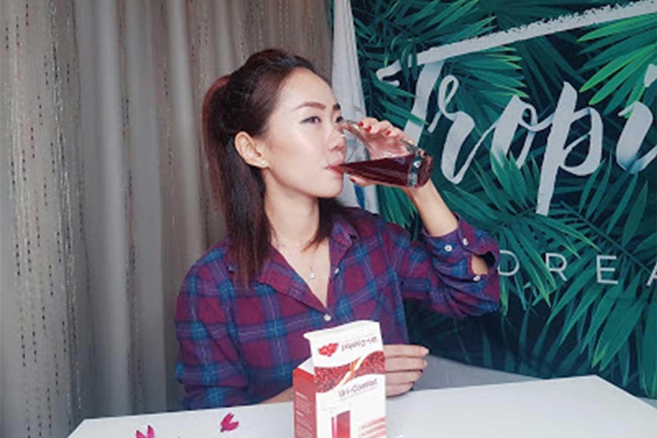 مشروب-التوت-البري-لعلاج-المهبل